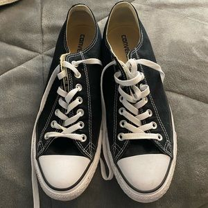 Black Converse Men size 10